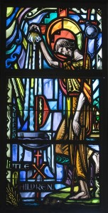 Stained Glass Window - Holy Baptism