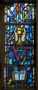 Stained Glass Window - Holy Communion